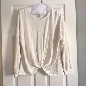 Tops - Knot twist sweatshirt!!!
